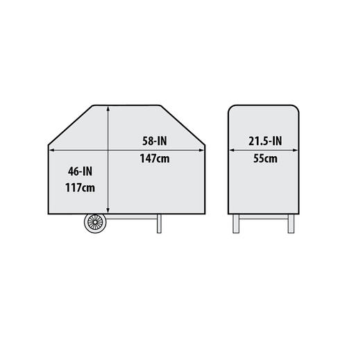 "Broil King - 58"" Premium PVC Polyester Cover"