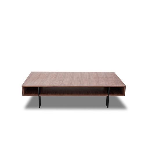 Modrest Stilt - Modern Walnut Coffee Table