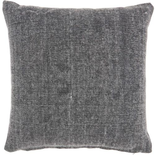 """Life Styles Gt626 Charcoal 18"""" X 18"""" Throw Pillow"""