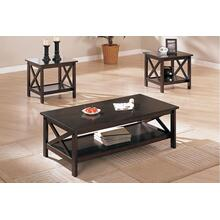 Ava 3pc Coffee Table Set