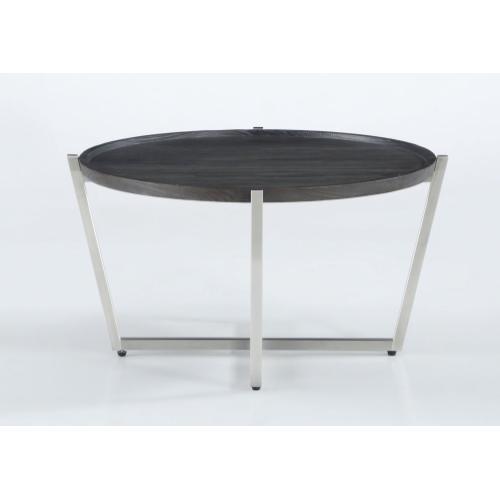 Platform Round Coffee Table