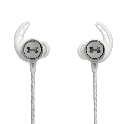 UA Sport Wireless REACT Secure-fitting wireless sport earphones with JBL technology and sound