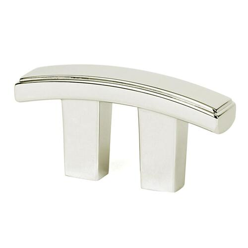 Arch Pull A418 - Polished Nickel