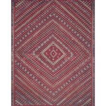 """Lucca Red Multi Rug - 2'-3"""" x 3'-9"""""""