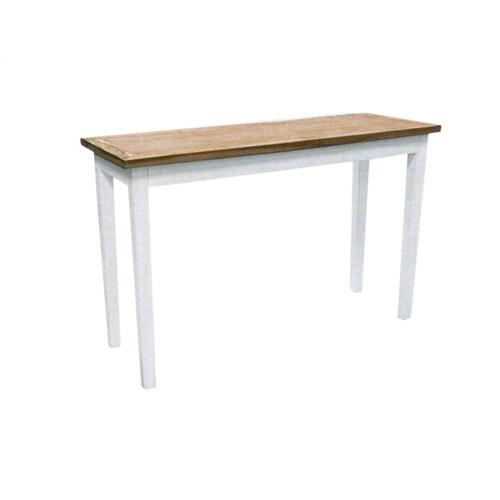 Sofa Table, Available in White Teak Finish.