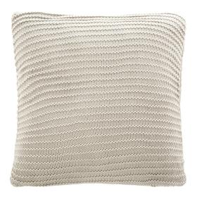 Bella Gigi Knit Pillow - Palewisper