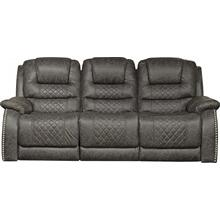 "Power Lay Flat Reclining Sofa (89"")"