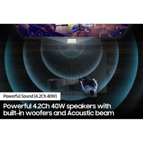 "Samsung - 130"" Class The Premiere LSP9T 4K Smart Triple Laser Projector"