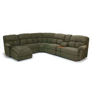 LF 1 Arm Sloped Chaise