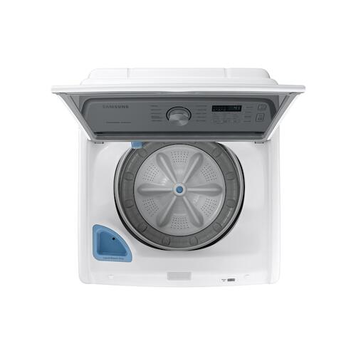 4.5 cu. ft. Capacity Top Load Washer with Active WaterJet in White