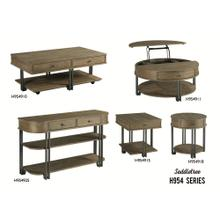 H954 Saddletree Tables