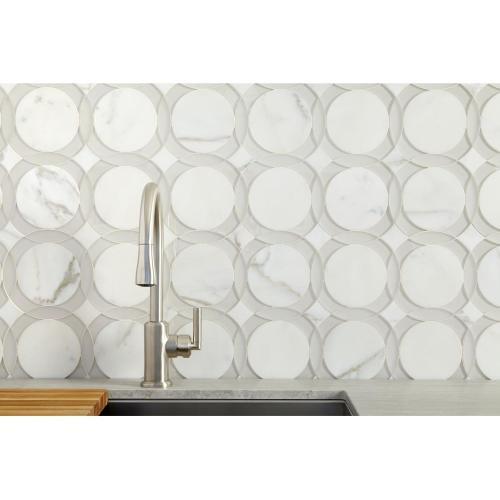 Kallista P2307100ad Studio41 Pull Down Kitchen Faucet Nickel Silver