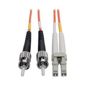 Duplex Multimode 62.5/125 Fiber Patch Cable (LC/ST), 1M (3 ft.)