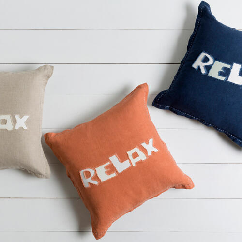 """Surya - Relax RX-003 18""""H x 18""""W"""