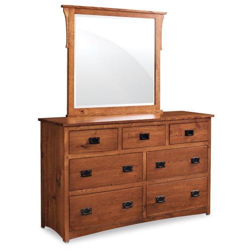 Simply Amish - San Miguel 7-Drawer Dresser