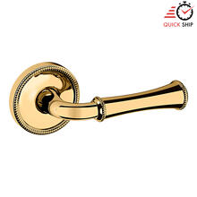See Details - Lifetime Polished Brass 5118 Estate Lever with 5076 Rose