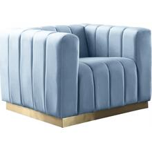 "See Details - Marlon Velvet Chair - 38.5"" W x 34"" D x 28"" H"
