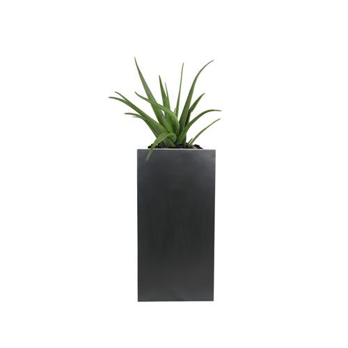 "York 16"" Square Tall Medium Planter"
