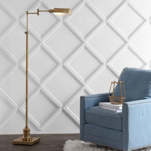 Briggs Floor Lamp - Brass Gold