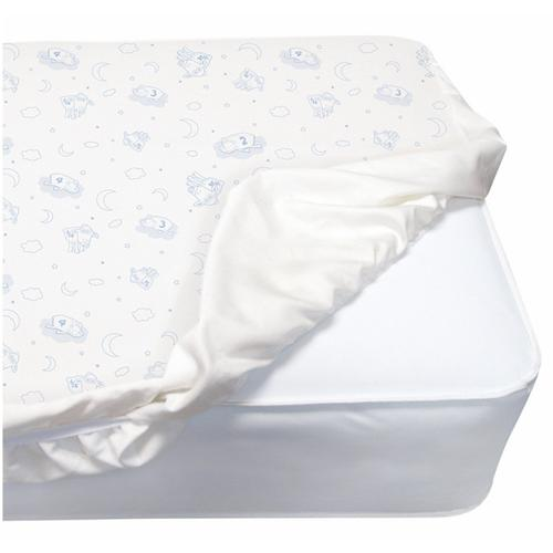 - PerfectSleeper Deluxe Crib Mattress Pad - 100% Waterproof, Quilted Top, Fitted Protective Crib Mattress Pad - No Color (NO)