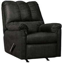 Signature Design by Ashley Darcy Rocker Recliner in Black Microfiber [FSD-1109REC-BLK-GG]