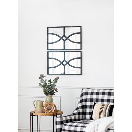 A & B Home - S/2 Wall Mirror