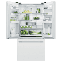 "CLOSEOUT Freestanding French Door Refrigerator Freezer, 32"", 17 cu ft"