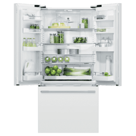 "Freestanding French Door Refrigerator Freezer, 32"", 17 cu ft"