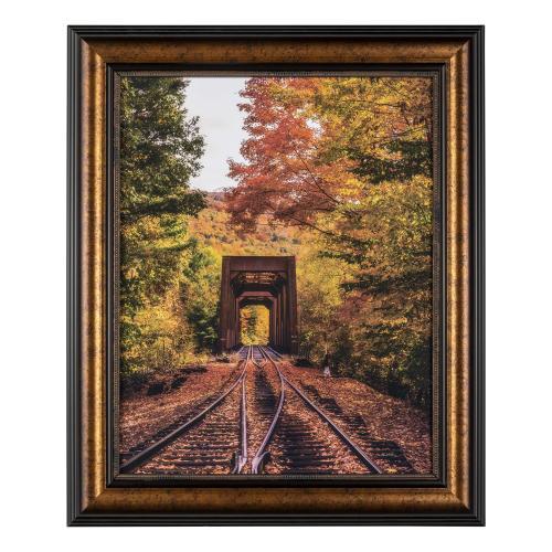 NEW ENGLAND TRAIN TRESTLE BRIDGE