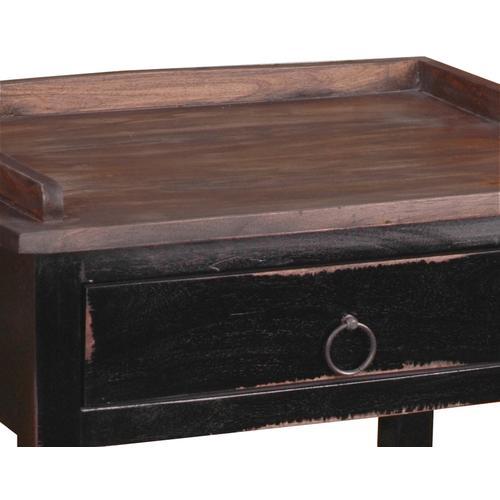 Cottage Table - Two Toned Walnut Finish