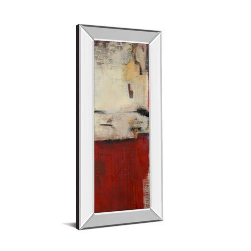 """""""Drop Box II"""" By Erin Ashley Mirror Framed Print Wall Art"""
