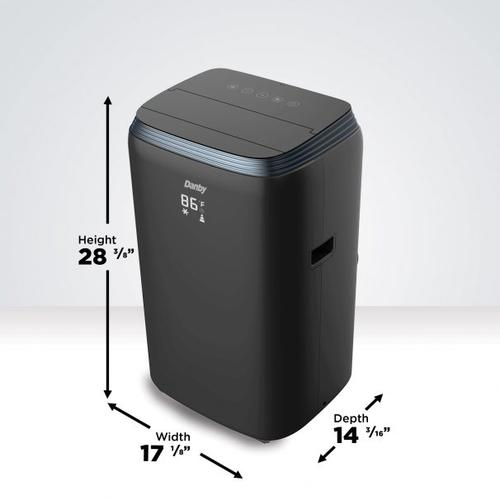 Danby 13,000 BTU (8,000 SACC) 4-in-1 Portable Air Conditioner with ISTA-6 Packaging