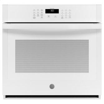 """GE 30"""" Built-In Single Wall Oven White - JTS3000DNWW"""
