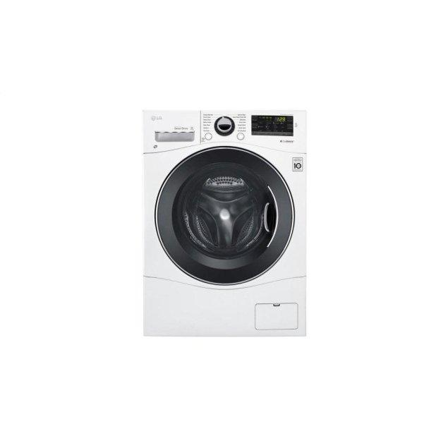 "LG Appliances 2.3 cu. ft. Capacity 24"" Compact Front Load Washer w/ NFC Tag On"
