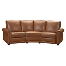 Sloane LAF Recliner with Motion in Brown