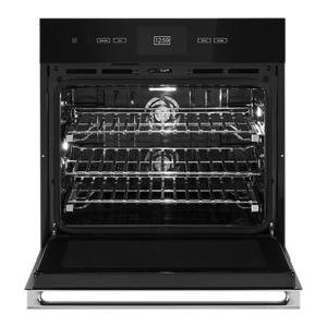"""JennAir - NOIR™ 30"""" Single Wall Oven with V2™ Vertical Dual-Fan Convection"""