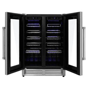42 Bottle Dual Zone Built-in Wine Cooler