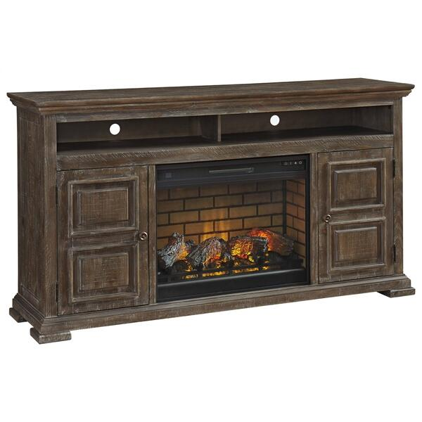 """See Details - Wyndahl 72"""" TV Stand With Electric Fireplace"""
