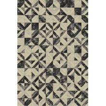 Durable Flat Weave No Shedding Lifestyle 701 Area Rug by Rug Factory Plus - 2' x 3' / Gray