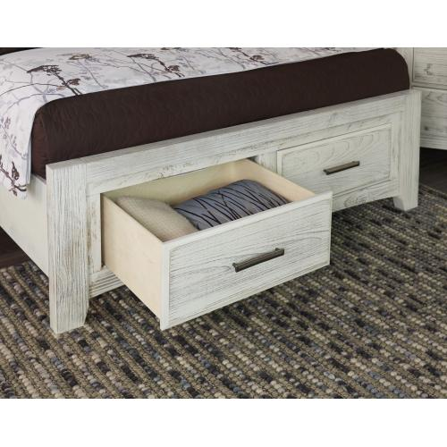 Gallery - Mansion Bed with avaliable storage (King or Queen)