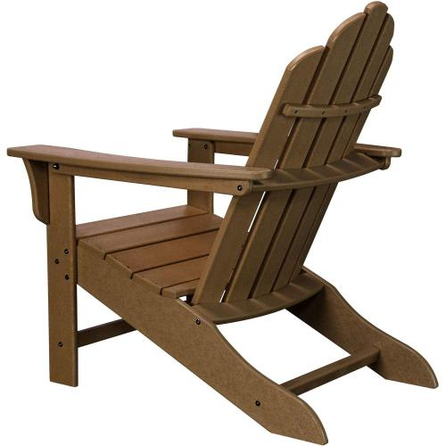 Hanover All-Weather Contoured Adirondack Chair - Teak, HVLNA10TE