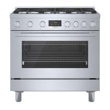 See Details - 800 Series Dual Fuel Freestanding Range Stainless steel HDS8655C
