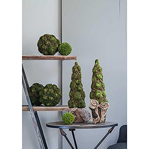 A & B Home - Textured Moss Ball