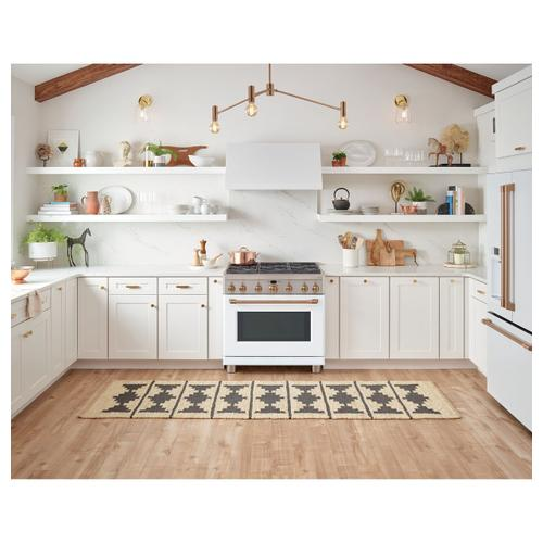 "Café 36"" Dual-Fuel Commercial-Style Range with 6 Burners (Natural Gas)"