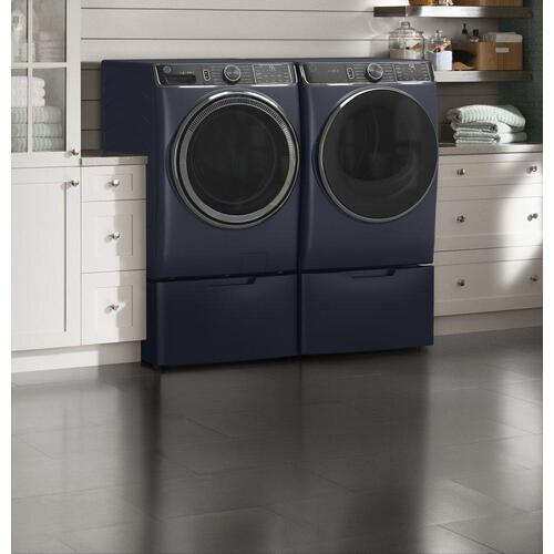 GE® 7.8 cu. ft. Capacity Smart Front Load Gas Dryer with Steam