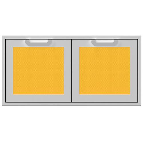 """42"""" Hestan Outdoor Double Access Doors - AGAD Series - Sol"""
