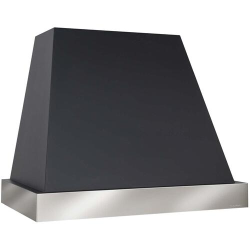 "42"" 600 CFM Designer Series Range Hood Black"