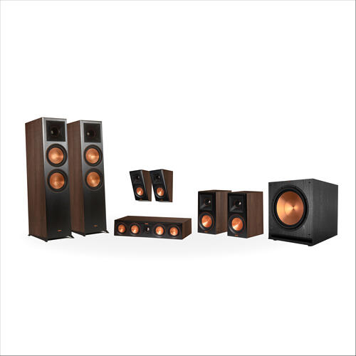 Klipsch - RP-8000F 7.1 Home Theater System - Ebony