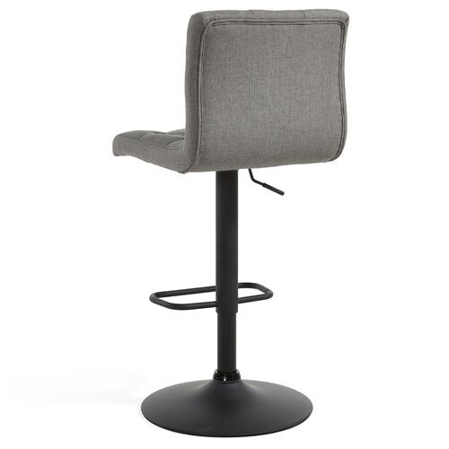 Dex Air Lift Stool, set of 2 in Grey