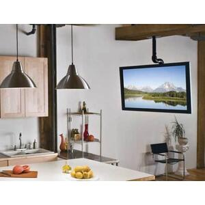"""Sanus - Black Tilt & Swivel Ceiling Mount for 37"""" - 70"""" flat-panel TVs"""